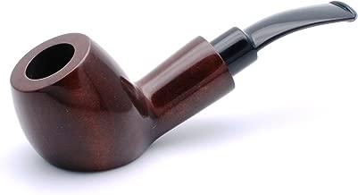 Mr. Brog Handmade Tobbaco Smoking Pipe - Model No. 63 Zurek Walnut - Pear Wood Roots