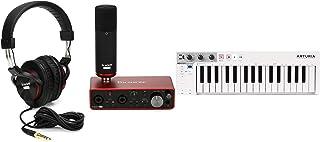 Arturia KeyStep 32-key Controller & Sequencer + Focusrite Scarlett 2i2 Studio 3rd Gen Recording Bundle Value Bundle