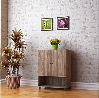 @home by Nilkamal Astero Shoe Cabinet, Walnut