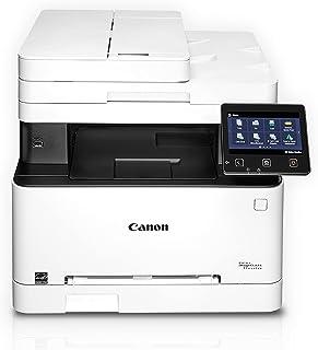 Canon Color imageCLASS MF644Cdw - All in One, Wireless, Mobile Ready, Duplex Laser Printer, White, Mid Size, Amazon Dash R...