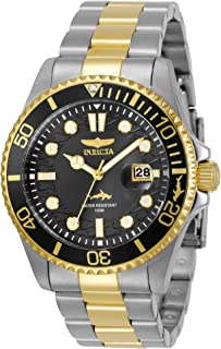 Invicta Men's Pro Diver Quartz Watch with Stainless Steel Strap, Two Tone, 22 (Model: 30023)