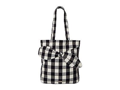 Loeffler Randall Bessie Bow Tote (Black) Tote Handbags