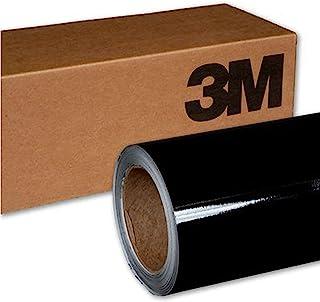 3M 2080 G12 GLOSS BLACK 5ft x 7ft (35 Sq/ft) Car Wrap Vinyl Film