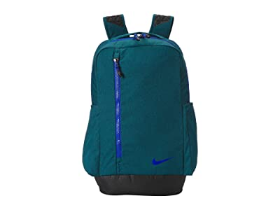 Nike Vapor Power Heather Backpack (Geode Teal/Black/Game Royal) Backpack Bags