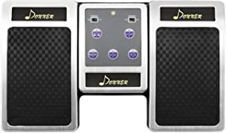 Donner Bluetooth Cambiador de Página Pedal de Música para iPad / Tableta Android / MAC / PC Color Plata