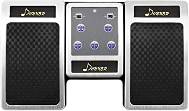 Donner Wireless Page Turner Pedal for Tablets Ipad Rechargeable, Silver