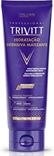 Sponsored Ad - Violet Toning Hair Moisturizing Cream 8.81 fl oz. - Intensive Moisturizer Conditioner for Blonde, Grey Hair...
