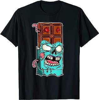 Chocolate Zombie Meme Halloween Sweet Tooth  T-Shirt