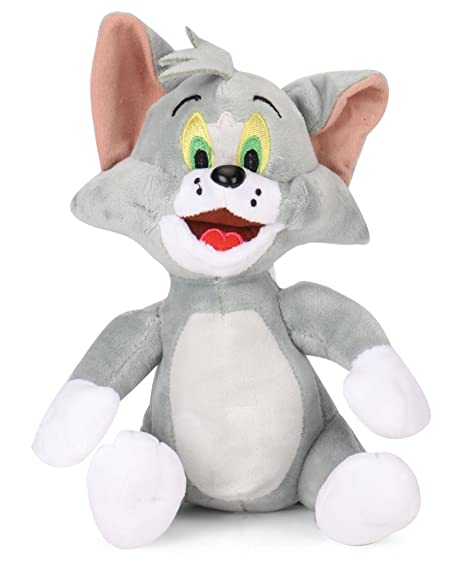 Warner Bros Tom Plush, Multi Color  8 Inch  Stuffed Animals