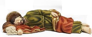 Paben - Estatua de San José durmiendo, artículo religioso 12,8 cm, de resina, de Paben.
