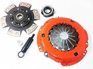 Clutch Kit Compatible With Grand Vitara XL-7 EX LX JX JS JLX JLS Limited Touring Plus JA 2001-2005 2.7L V6 GAS DOHC Naturally Aspirated (2.7L FIT XL-7; 6-Puck Disc Stage 3)