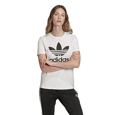 adidas Originals Trefoil Tee (White/Black 1) Women