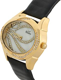 Charisma Casual Watch for WomenLeather B and, Analog, C6287