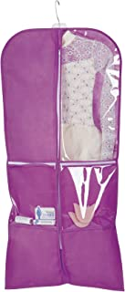 Breathable Dance Garment Bag TH108PUR Purple One-Size