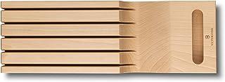 Victorinox 7.7065.1 Schubladeneinsatz aus Holz für Messer 5 Messerhalter Ordnungssystem 43 x 145 x 62 cm Swiss Classic Por...