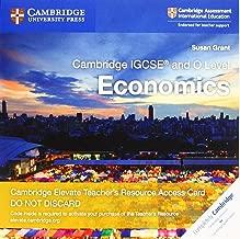Cambridge IGCSE® and O Level Economics Cambridge Elevate Teacher's Resource Access Card (Cambridge International IGCSE)