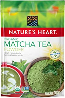 Superfoods - Matcha Orgánico en Polvo - Nature's Heart - 100g