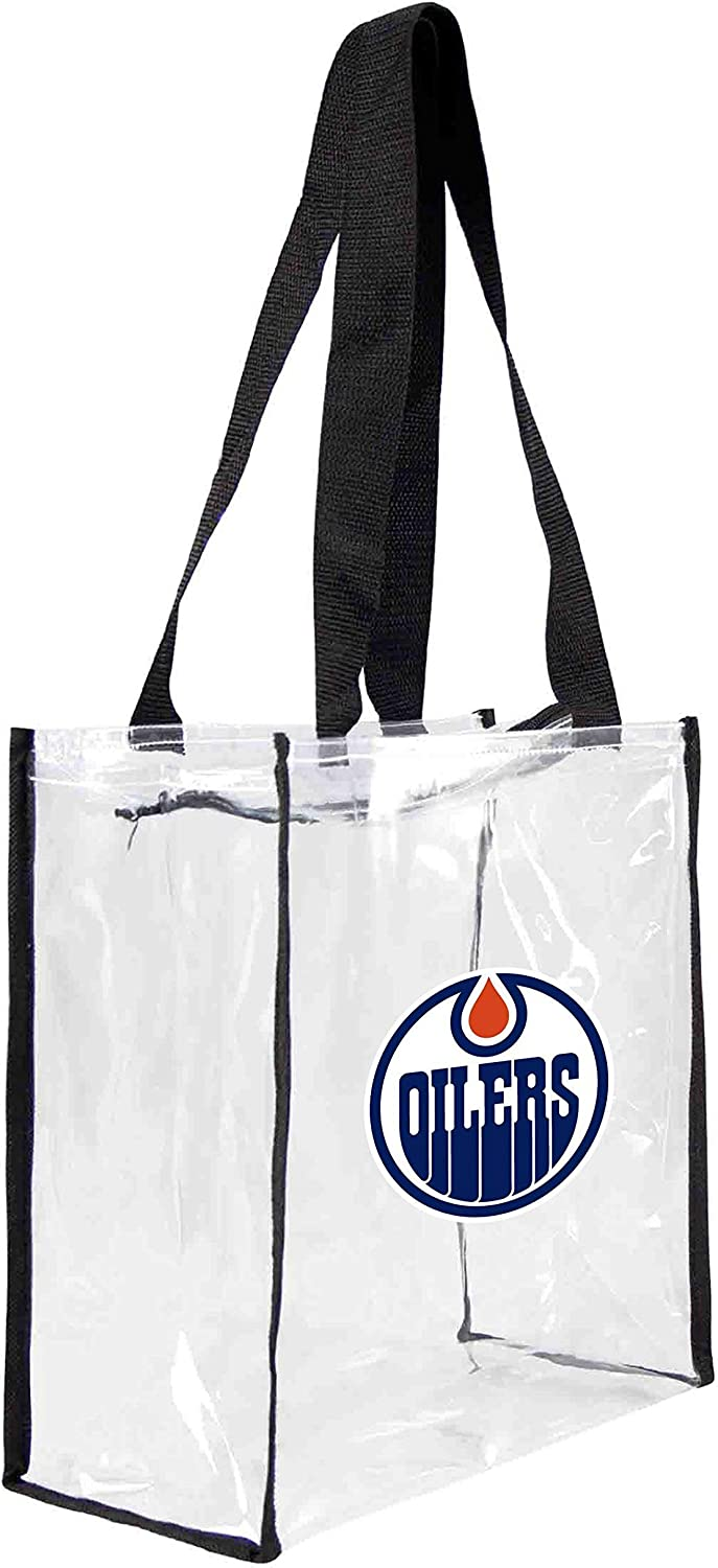 Littlearth Friendly Clear Square Stadium Beauty products Tote Bag San Francisco Mall Logo Team with