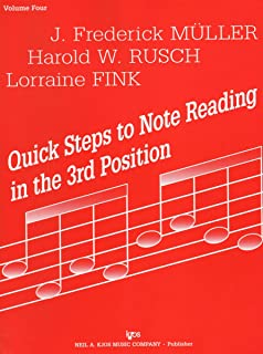 72VN - Quick Steps to Note Reading in the 3rd Position - Volume Four - Violin