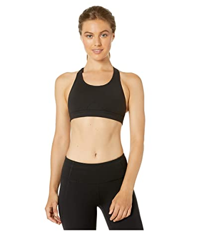 Bloch Sports Bra with Wide Adjustable Straps (Black) Women