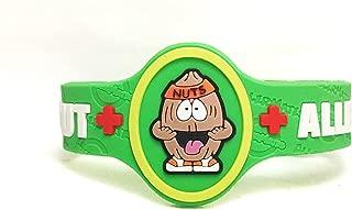 Allermates Kids Medical Wristband - Nutso (Tree Nut Allergy)