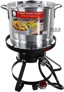 Stockpot Set w/soporte y quemador vaporera Tamalera vaporera