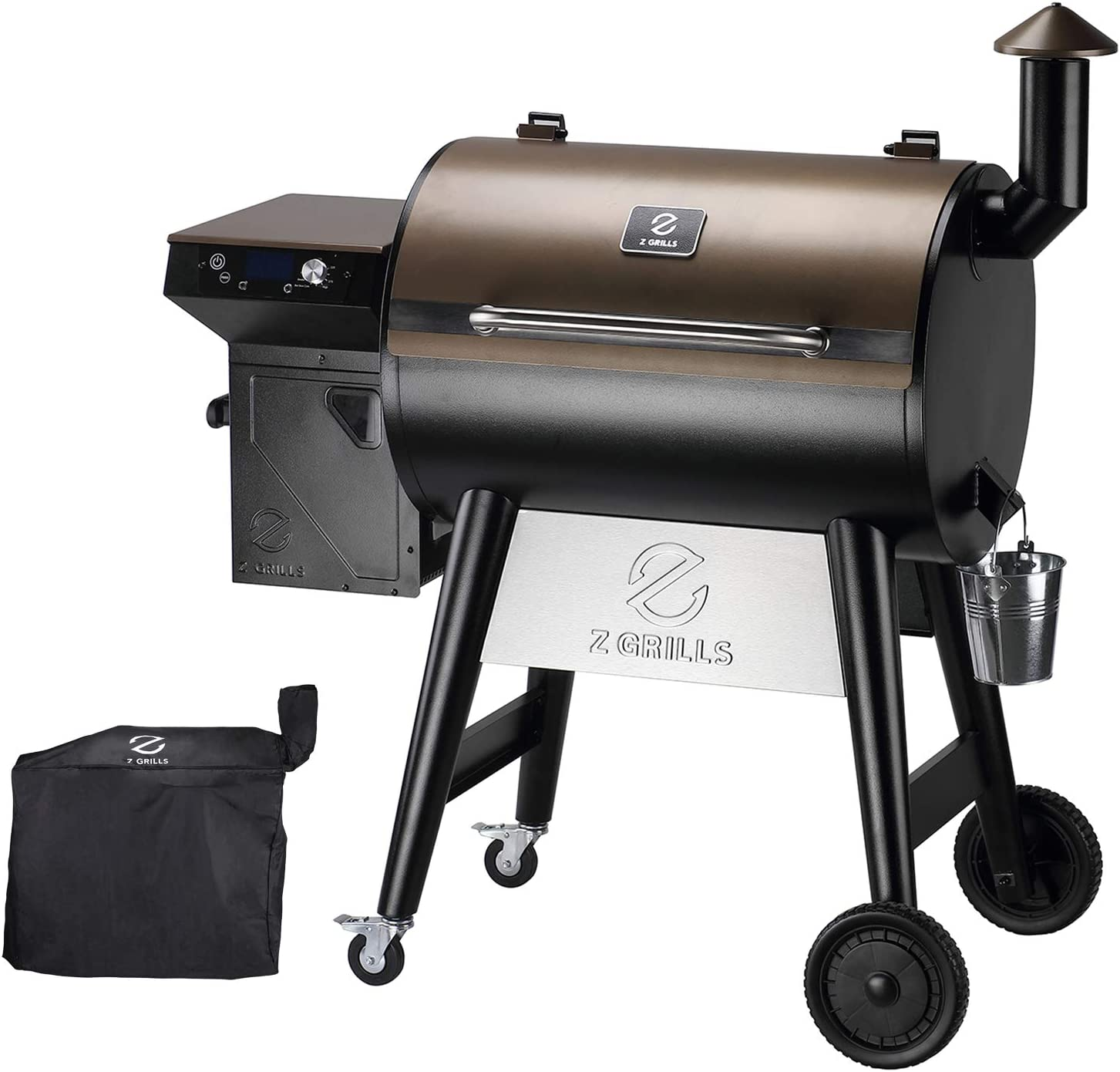 Z GRILLS 7002C 2021 Upgrade Wood Grill free shipping for Weekly update Smoker Outdo Pellet