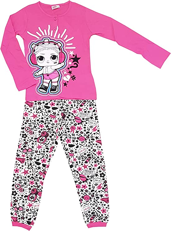 Pijama LOL Surprise de dos piezas de algodón Jersey para niña ...