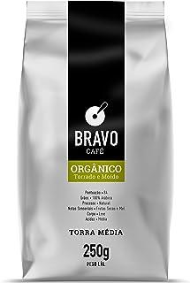 Bravo Café Orgânico Torrado e Moído 250g