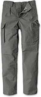 CI Germany German Army Bundeswehr Security Moleskin Olive Cargo Pants Trousers 100% Cotton