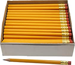 RevMark Jumbo Round Pencil 72-Pack with Black Lead, USA Made. Quality Cedar Wood for Carpenters, Construction Workers, Woo...