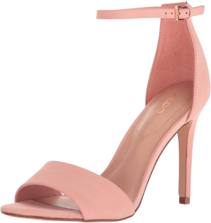 Aldo Woherrar Fiola Dress Dress Dress Sandal Bordo  butiken gör köp och försäljning