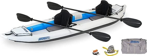 Sea Eagle 385FT FastTrack Inflatable Kayak Pro Carbon Package