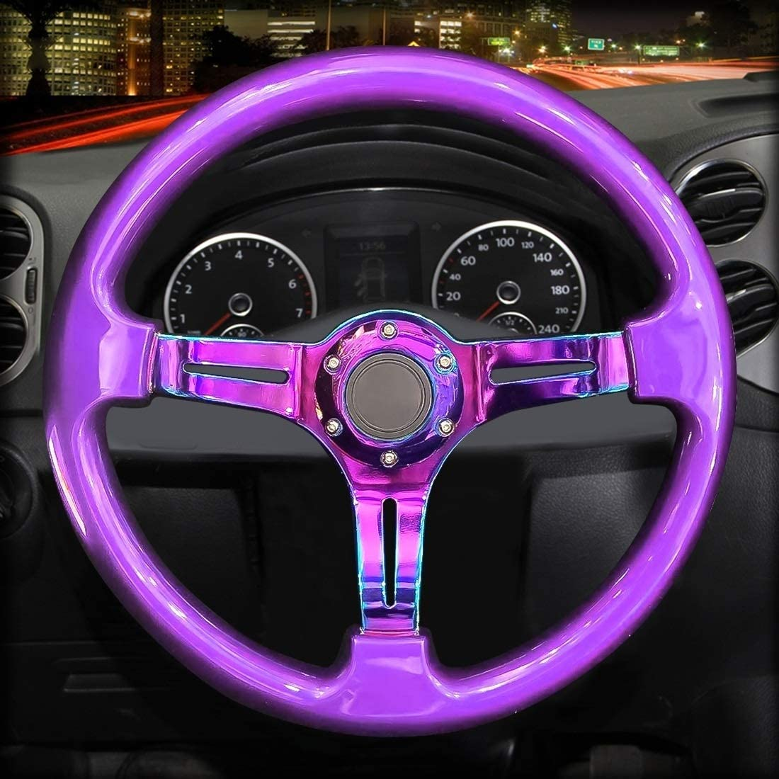 XiaoMinZhang Car Colorful Modified Racing Horn Button Stee OFFicial Sport Surprise price