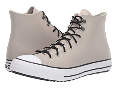 Converse Chuck Taylor All Star Winter Leather Boot Hi (Birch Bark/White/Black) Shoes