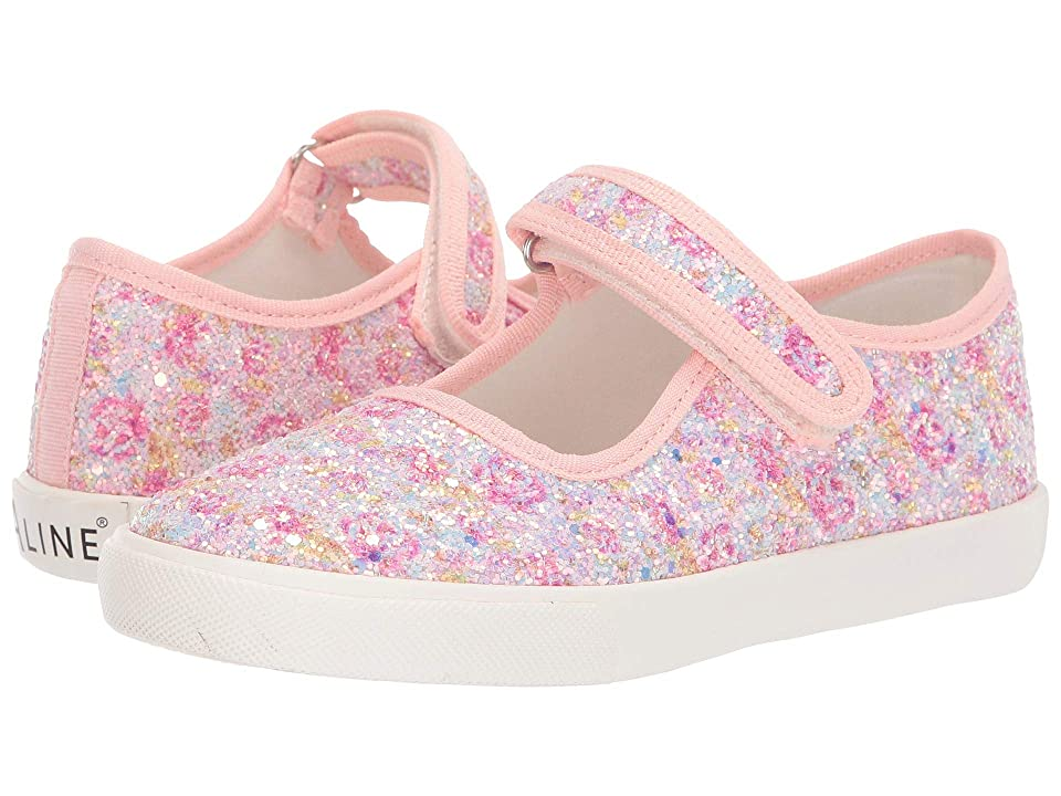 Amiana 6-A0838 (Toddler/Little Kid/Big Kid) (Pink Floral Glitter) Girls Shoes