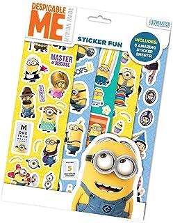 Disney-Les Minions Sticker Fun, DMSFN