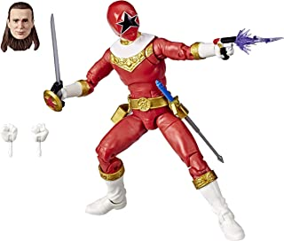 Power Rangers E8661 Lightning Collection Zeo Red Ranger 6-Inch Premium Collectible Action Figure Toy with Accessories