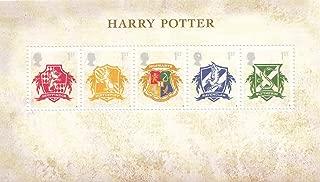 Harry Potter - Hogwarts Crests Collectible Postage Stamp UK