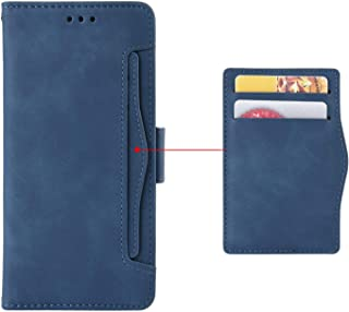 Card slot Case for OPPO Reno 4 SE,Stand Flip Case Cover for OPPO Reno 4 SE,Retro magnetic Phone shell,Wallet phone case wi...