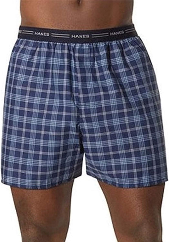 XXL XXXL M Fullluwaa Boxers Homme Lot de 3 Coton Slip Fitted Trunk Cale/çons S L XL