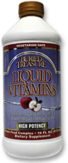 Buried Treasure Liquid Vitamins, 16 Ounce (2)