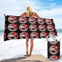 Shenhuakal Quick Dry Towel BTS JIN Property Fashion Bath Towels Lightweight Washcloth for Beach