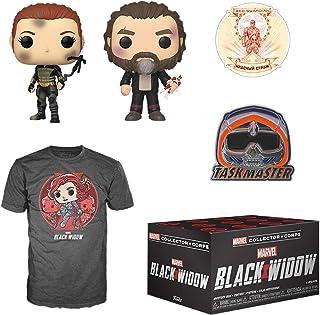 Funko Marvel Collector Corps Subscription Box, Black Widow Theme, May 2020, Medium T-Shirt, Multicolor