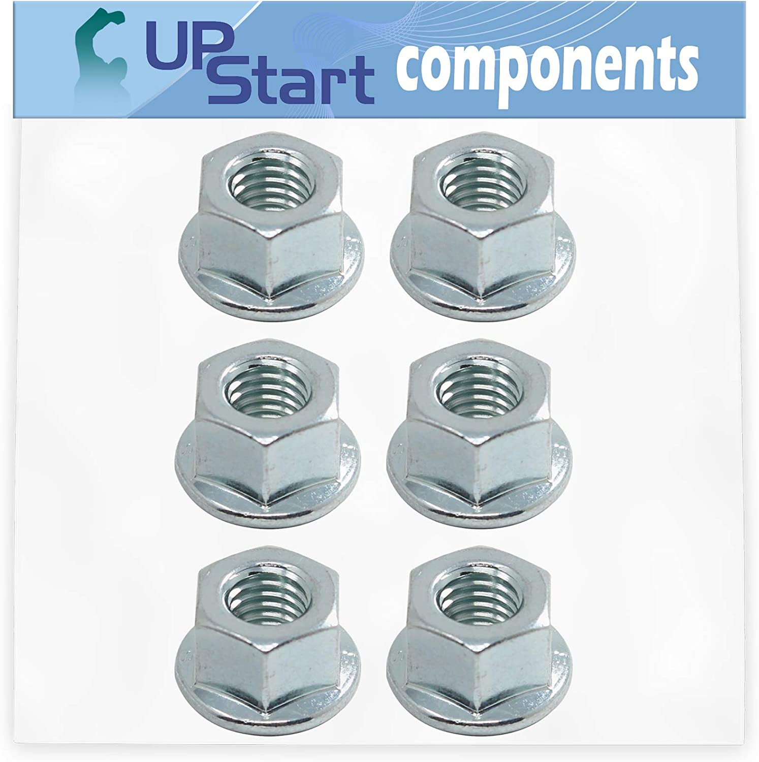 UpStart Components 6-Pack Classic 503220001 Flange Cheap Nut S for Replacement
