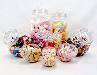 10 Jar Vintage Victorian Pick & Mix Sweet Shop Candy