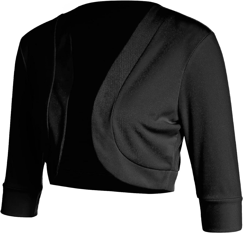 Women's Autumn Cropped Bolero Shrug 3 Basic Popular product Cardigan 4 Selling Ca Sleeve