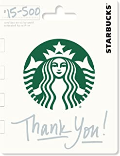 starbucks thank you