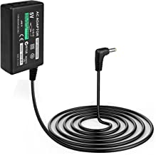 TNP PSP Charger AC Adapter Power Supply Home Wall Travel Charging Cord Cable Accessories Kit for Sony PlayStation Portable PSP 1000 Slim 2000 3000 series (Black) [Sony PSP]