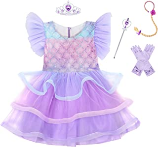 Eledobby Girls Princess Dress Up Costume Accessories Birthday Party Halloween Cospaly Clothes